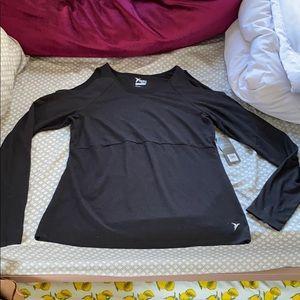 Old navy active cold-shoulder LS shirt